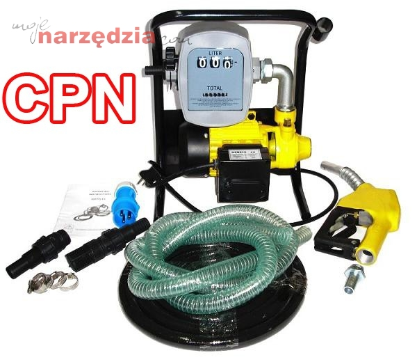Młodzieńczy MINI CPN przenośny dystrybutor pompa do paliwa, oleju 230V 600W AV42
